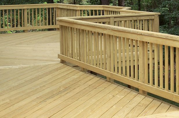 Treated Railing Capital Lumber